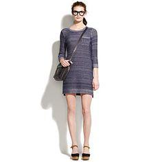 indigo ink sweater dress - Madewell