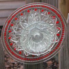 glass flower yard art#Repin By:Pinterest++ for iPad#