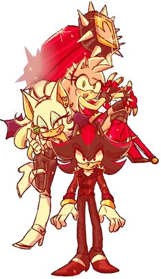 What if Amy joined Sonic The Hedgehog, Silver The Hedgehog, Shadow The Hedgehog, Amy Rose, Shadow And Amy, Sonic And Shadow, Sonic Fan Characters, Anime Characters, Sonamy Comic