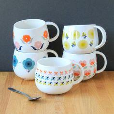 Retro Designed Mugs