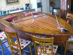 boat converted into bar - Google Search