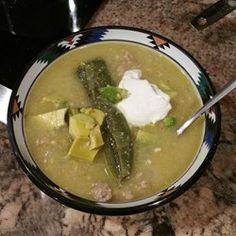 Green Enchilada Pork Chili - Allrecipes.com