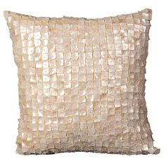 Large Ava Pillow in Ivory @Pascale De Groof
