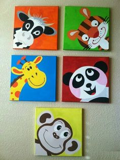 Animal paintings