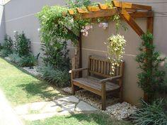 Backyard Seating, Backyard Patio Designs, Outdoor Pergola, Backyard Retreat, Garden Seating, Backyard Projects, Garden Projects, Outdoor Walls, Garden Ideas To Make