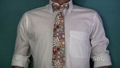 how to make a tie