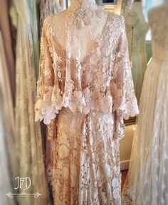Joanne Fleming Design Linens And Lace, Fashion Boutique, Wedding Styles, Cool Girl, Beautiful Dresses, Personal Style, Vintage Fashion, Gowns, Costumes