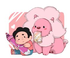 DONT BE SAD STEVEN, HAVE SOME LION LICKER WITH ME! by Stick2mate.deviantart.com on @DeviantArt