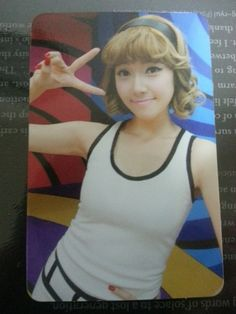JESSICA Girl's Generation Official Photocard Photo Card 3rd Mini HOOT SNSD
