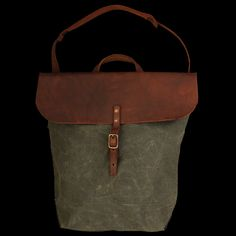 UNIONMADE - Stanley & Sons - Bank Bag in Olive Twill