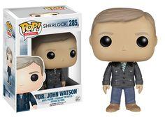Sherlock Dr. John Watson Pop! Television Funko Vinyl Figure New in Box NIP 285 New in Package