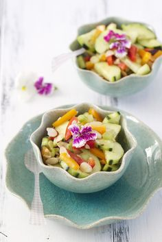 Summer Cucumber Salad
