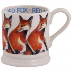 Animal Red Fox 1/2 Pint Mug