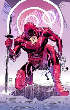 Daredevil color by MATT-A-NASHI on deviantART