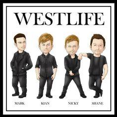 #Westlife Cute!