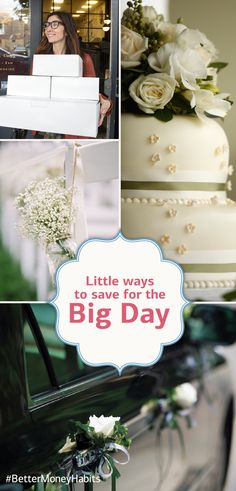 If you're planning a wedding, you've got a lot of budgeting to do. Make sure you're set up for savings success with a few #BetterMoneyHabits for the big day.