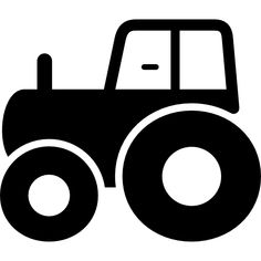 Tractor side view free vector icons designed by Freepik Baby Flash Cards, Baby Cards, Kids Cards, Montessori Baby, Montessori Activities, High Contrast Images, Baby Nursery Themes, Baby Images, Precious Children