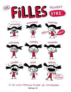 Les filles peuvent etre... (C) Elise Gravel                                                                                                                                                                                 More