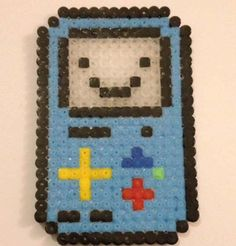 Beemo Adventure Time hama beads by BatBroDesigns