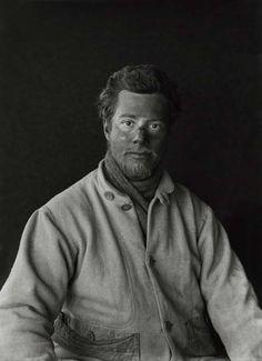 Apsley George Benet Cherry-Garrard | On return from the barrier January 29 1912 | Herbert Pontings Captain Scott photography