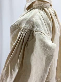 Antigüedades: Camisa de lino con pechera trabajada - Foto 5 - 60985034