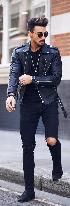 Leather Jacket Outfit Ideas | How To Wear Jackets For Men – PS 1983