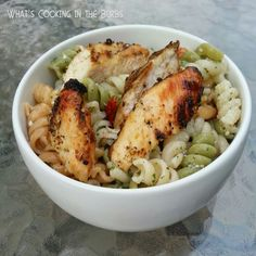 What's cooking in the burbs: Lemon Chicken Pasta Salad