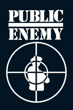 "Chuck D designed this logo himself in 1986. Many at the time assumed the figure caught in the target scope was supposed to be a cop, but Chuck D insists it was just a ""B-Boy""........"