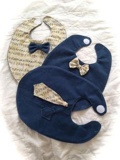 (9) Name: 'Sewing : Easy Bow Tie Baby Boy Bibs