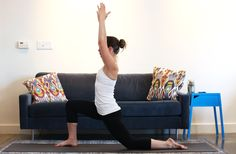 Yoga for Runners Crescent Lunge