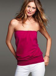 Women's Knit Tops & Knit Tees. Lace and Long-sleeve Tops & Tees at Victoria's Secret