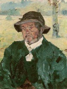 Old Man, Celeyran - Henri de Toulouse Lautrec