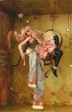 Dream A Little Dream - Nicole West Fantasy Art