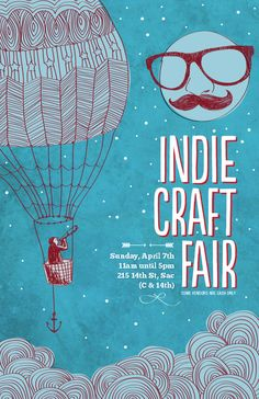 INDIE CRAFT FAIR POSTERS - Google Search