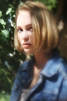 Lily-Rose Depp By Dana Boulos