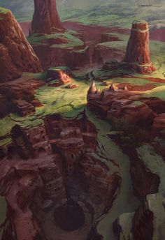 Rhino Quarry, Aaron Limonick on ArtStation at https://www.artstation.com/artwork/3vowo