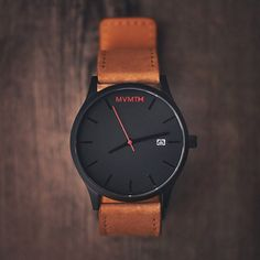 The perfect everyday watch from MVMT Watches. - mens watches for cheap, mens wat. - Men's style, accessories, mens fashion trends 2020 Mvmt Watches, Luxury Watches, Cool Watches, Unique Watches, Nice Mens Watches, Beautiful Watches, Leather Watches For Men, Wrist Watches, Watches For Men Affordable