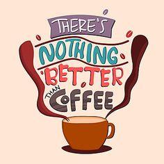 Retro Typography, Typography Quotes, I Love Coffee, Coffee Art, Clipart, Coffee Time Quotes, Impression Sur Tee Shirt, Coffee Vector, Retro Vector