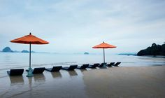 Amari Vogue Krabi in Krabi - Luxushotel in Krabi, Thailand Krabi Thailand, Vogue, Ocean, Patio, Sky, Beach, Outdoor Decor, Nature, Paradise