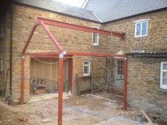 Steel Frame Extension w Gable