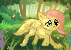 how to draw wolf fluttershy from My Little Pony
