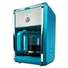 Bella DOTS Switch 12-Cup Coffee Maker (Teal Blue) - http://teacoffeestore.com/bella-dots-switch-12-cup-coffee-maker-teal-blue/