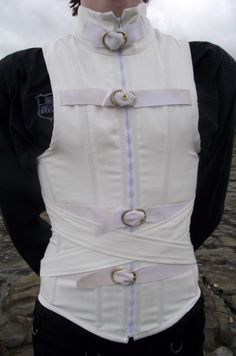 Men's Straight Jacket Corset by Vic-Dustrael---- someone buy this one for meeeeee!