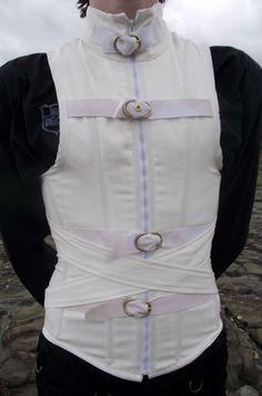 Men's Straight Jacket Corset by Vic-Dustrael----