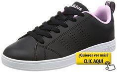 pretty nice 782c5 ddb49 adidas Vs Advantage Clean, Zapatillas para Mujer,...  zapatillas Tenis  Negros