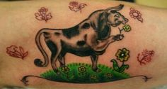 Ferdinand the Bull Tattoo