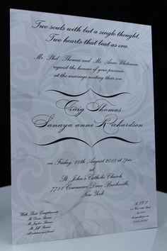 A5 Size Wedding Invitation   cheap wedding invites - Amazing Wedding Cards http://shar.es/CzBBv