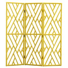 Painted Cane screen #panel #room divider