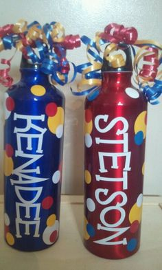 Vinyl Water Bottles by CountryCraftandVinyl on Etsy, $8.00