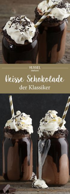 Heiße Schokolade - der Klassiker - Hussel Confiserie